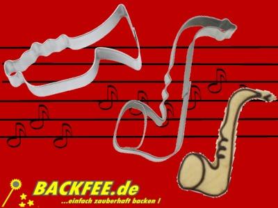 Ausstechformen musikinstrumente