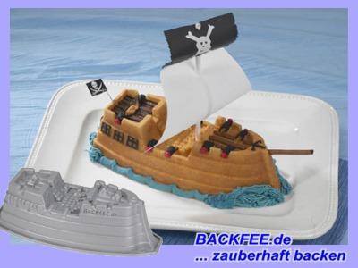 Backform Schiff Piratenschiff Backfee De