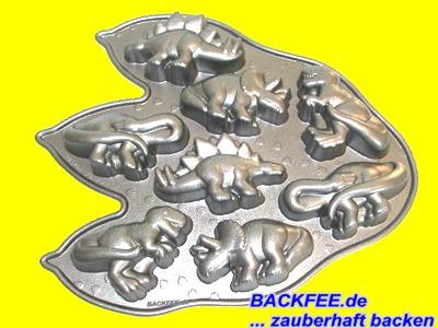 Dinosaurier Backform 8 Teilig Von Nordic Ware Backfee De