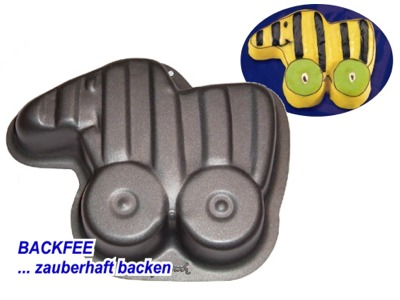 Janosch Backform Tigerente Backfee De