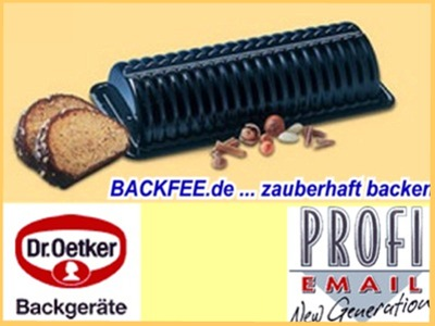 Dr Oetker Backformen Rehruckenform Backfee De